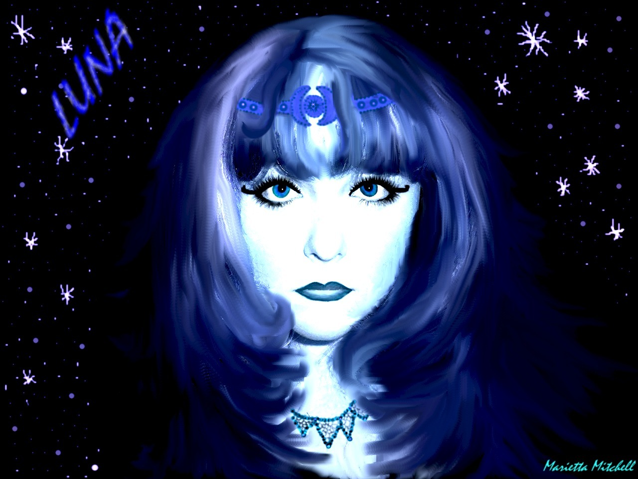 Moon goddess example